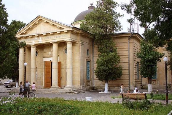 Свято-Екатерининский собор в Херсоне. Здесь покоится Потёмкин