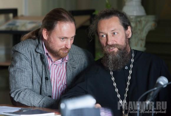 Сергей Чапнин и прот. Дмитрий Юревич