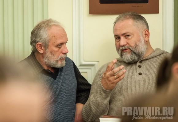 Журналист Виктор Саулкин и издатель Георгий Гупало