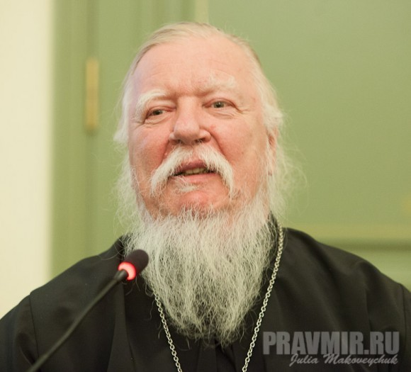 Протоиерей Димитрий Смирнов, но и помогал ей в самые трудные годы
