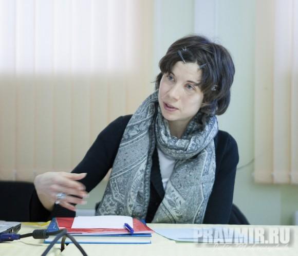 Церковь и общество в России глазами социолога. Ведущая - руководитель службы СРЕДА Алина Багрина