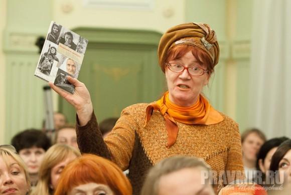 """На презентации книги """"Монахиня из разведки"""""""