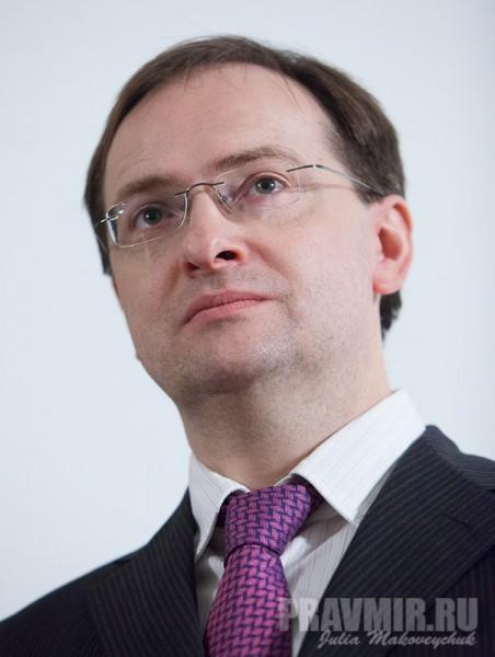 Владимир Мединский. Фото Юлии Маковейчук