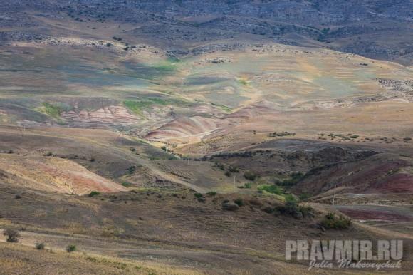 Давидгареджа находится в пустынной местности Гара Кахети