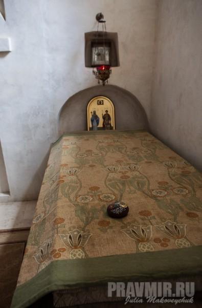 Гробница преподобного Давида