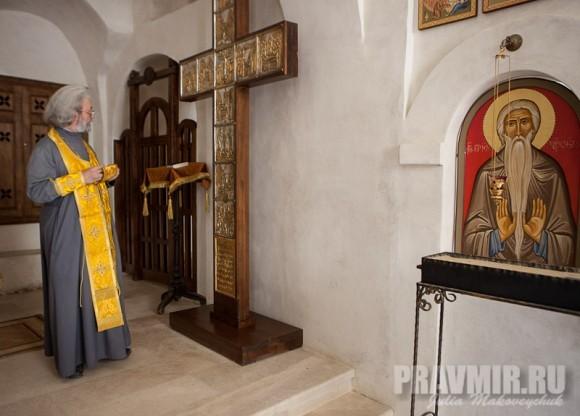 Храм Преображения — поклонный крест. Протоиерей Александр Ильяшенко