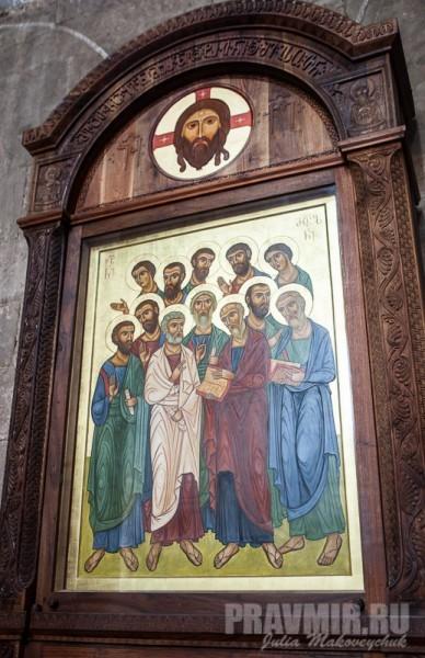 Икона собора Двенадцати Апостолов
