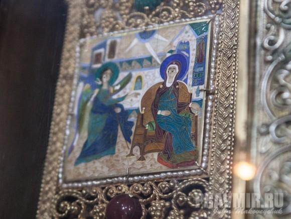 Фрагменты креста: Благовещение Пресвятой Богородицы