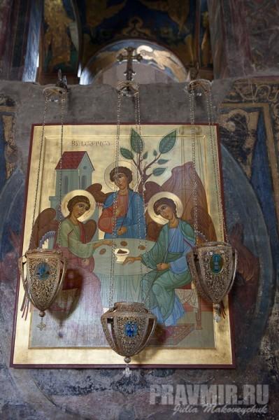 Троица. Современная икона