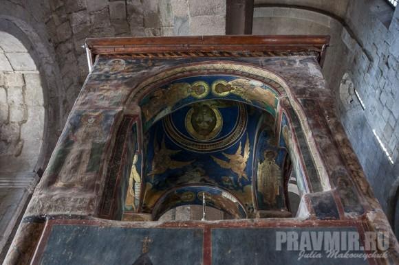 Башня над Хитоном Господним: фрагмент росписи