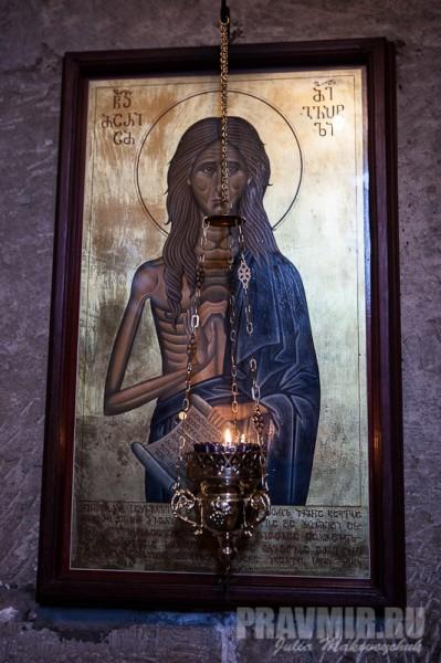 Современная икона прп. Марии Египетской