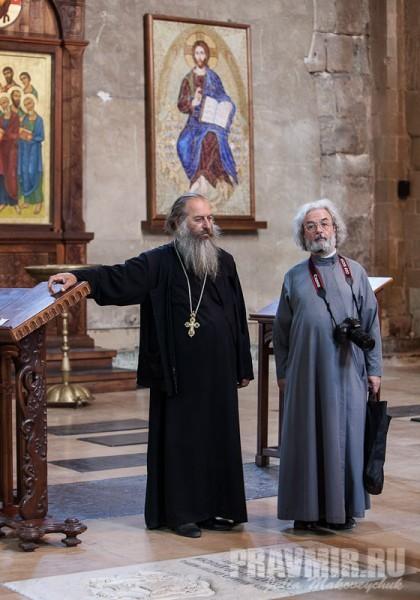 Священник Давид и протоиерей Александр Ильяшенко
