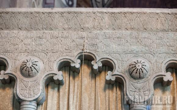 Фрагменты центрального иконостаса