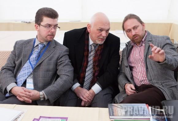 Евений Мурзин, Евгений Стрельчик, Сергей Чапнин, журнал Московской Патриархии