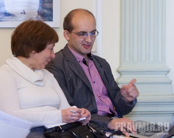 Ирина Языкова и Филипп Давидов