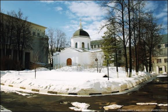 Храм при Российском Государственном Социальном университете