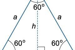 Чудо с равносторонними треугольниками