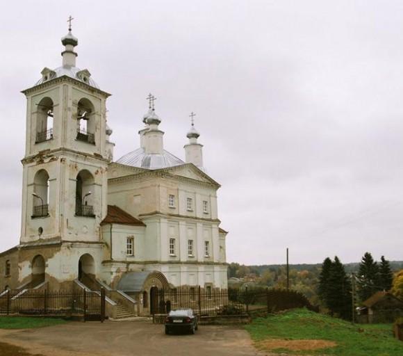 Ильинский храм г. Вереи, современный вид
