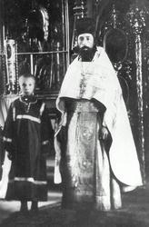 протоиерей Петр Пушкинский с сыном
