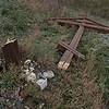 В Саратовской области спилили три придорожных креста
