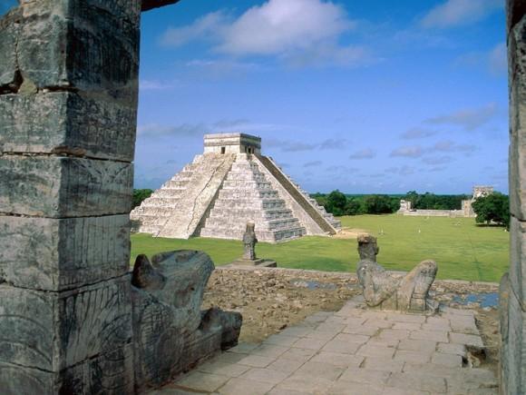 Чичен-Ица - поселение древних майя. Фото: in.skyline.kh.ua