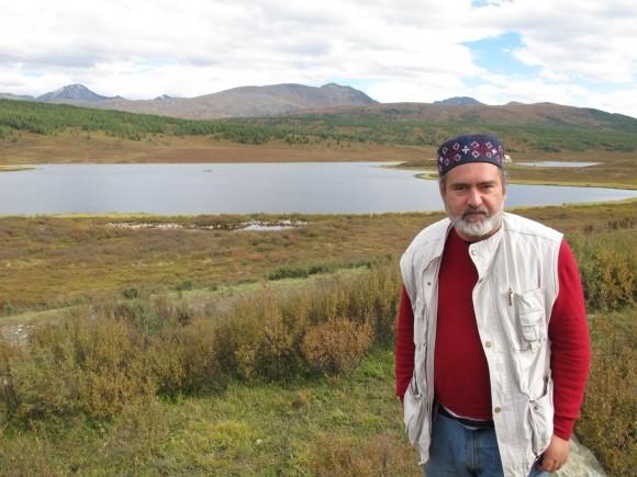 Алексей Лидов на Улаганском плато