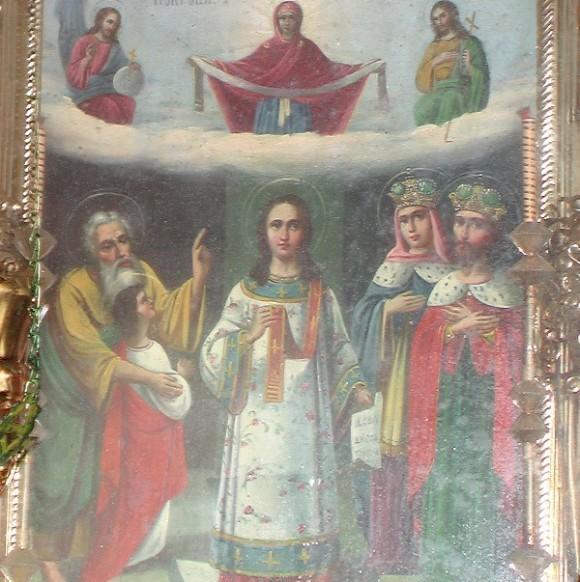 Икона Покрова из Андрияшевской церкви