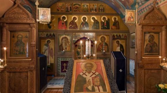 Никольский придел храма свт. Николая в Кленниках