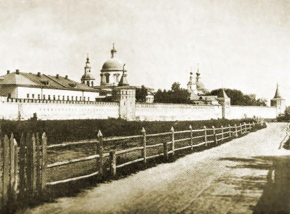 Даниловский монастырь, фото 1883 года. Источник: moskvaweb.ru