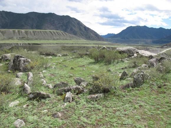 Панорама гор у бома Коркечу