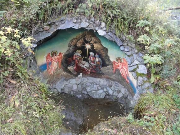 Грот Рождества на Новом Патмосе