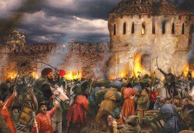 Освобождение Москвы от польских интервентов. 1612 год
