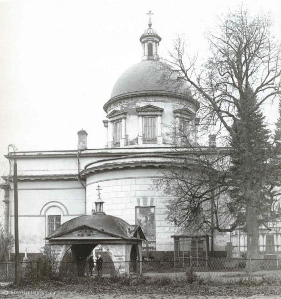 Троицкий собор Данилова монастыря, 1920-е гг. Фото: oldmos.ru