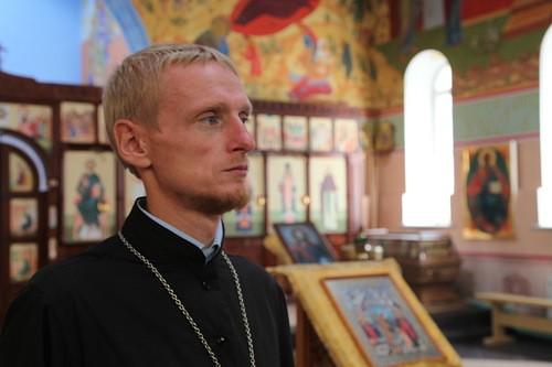Священник Григорий Куценко. Фото Валерия Богатова