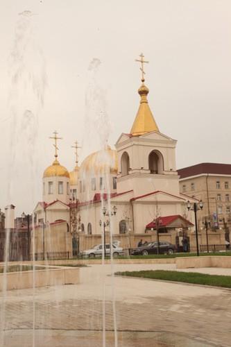 Храм Архангела Михаила в Грозном. Фото Валерия Богатова