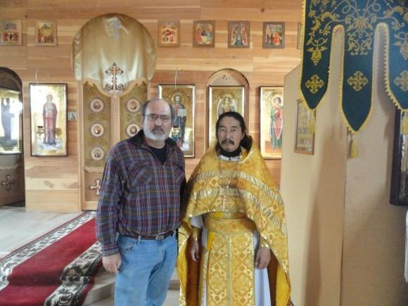 Алексей Лидов и игумен Макарий
