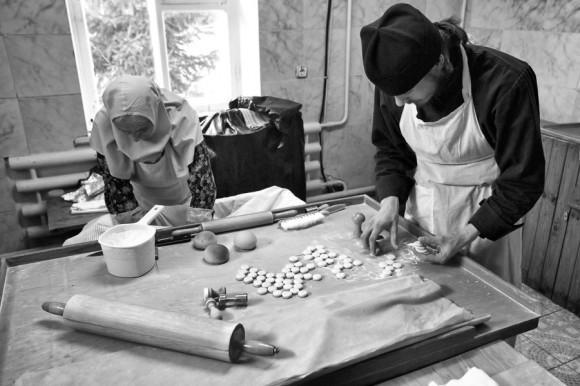 Preobrazhenskoe Metochion. Prosphora bakery