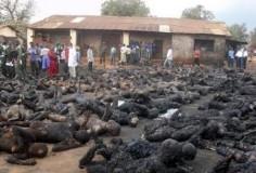 Взрыв бензовоза в Конго