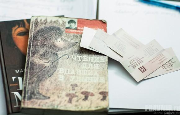 """В кабинете режиссера на столе - зачитанный """"Патерик"""" и новая """"Тетя Мотя"""""""