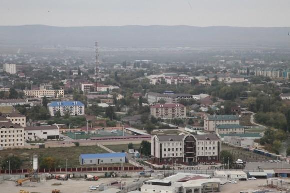 Панорама города Грозный