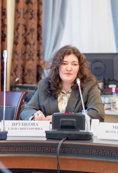 Елена Пруцкова, специалист Центра социологических исследований
