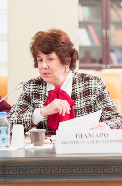 Людмила Шамаро, проректор Свято-Тихоновского университета