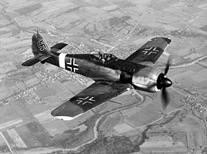 Немецкий истребитель Фокке-Вульф 190