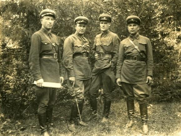 Сотрудники НКВД. 1930-е годы.