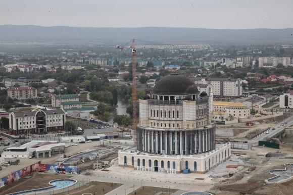 Панорама г. Грозного с Грозный Сити