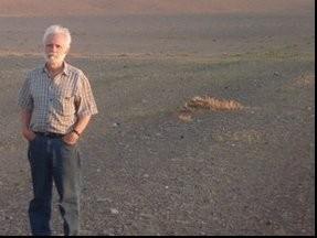 Сергей Неклюдов в экспедиции в Монголии