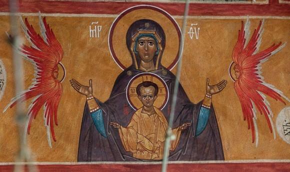 Икона Пресвятой Богродицы Знамение