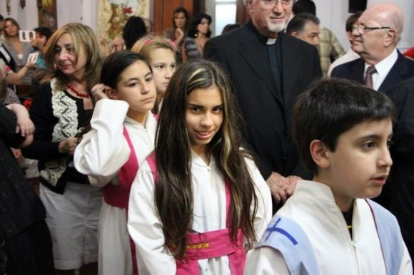 В храме св. вмч. Георгия