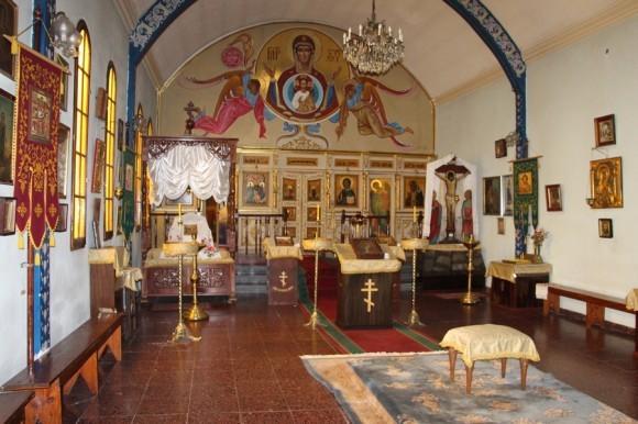 Благовещенский кафедральный собор (РПЦ МП) в Буэнос-Айресе.
