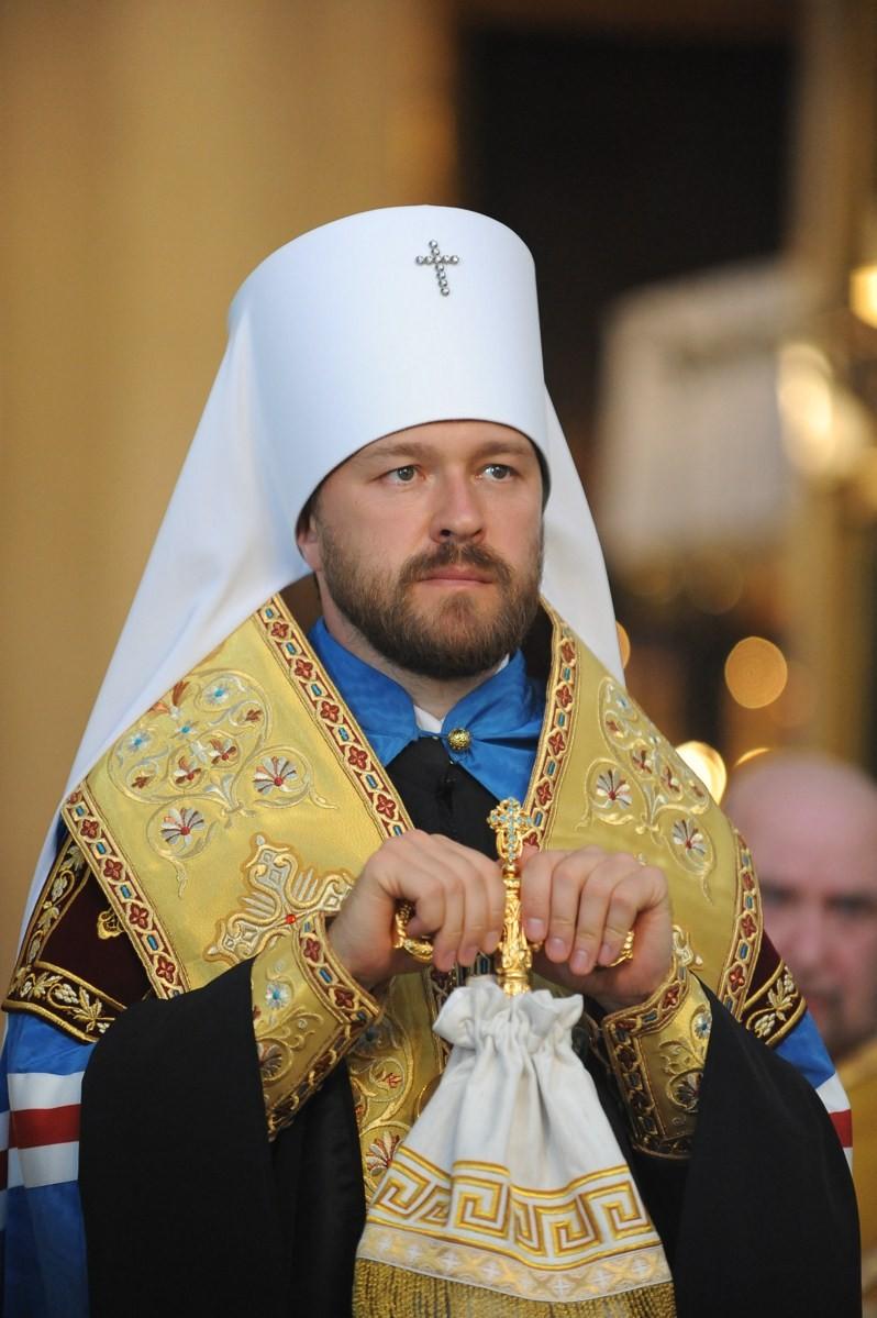 Митрополит Иларион: Московский Патриархат поддерживает Епископскую конференцию Франции в борьбе против однополых браков